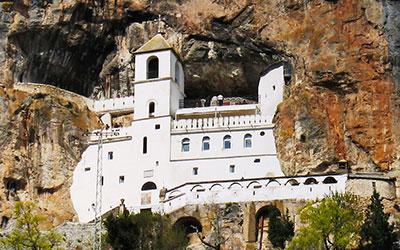 экскурсия в монастырь Острог и Цетинье