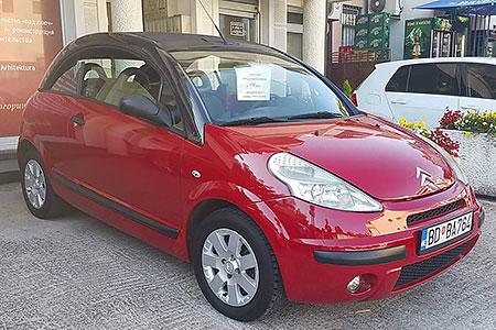 аренда авто в Черногории Сitroen C3 Pluriel