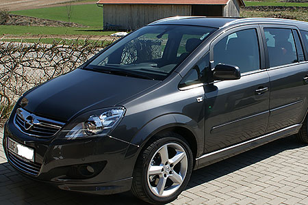 аренда авто в Черногории Opel Zafira